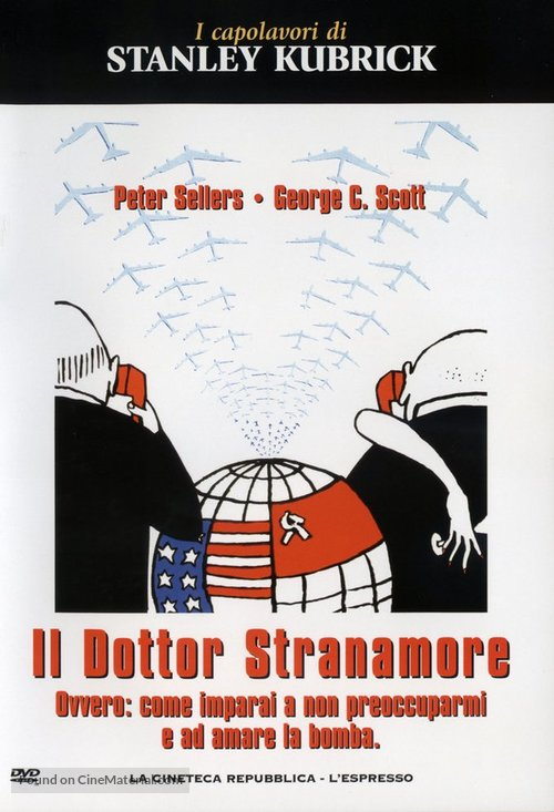 Dr. Strangelove - Italian Movie Cover