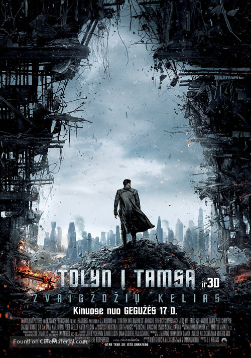 Star Trek: Into Darkness - Lithuanian Movie Poster
