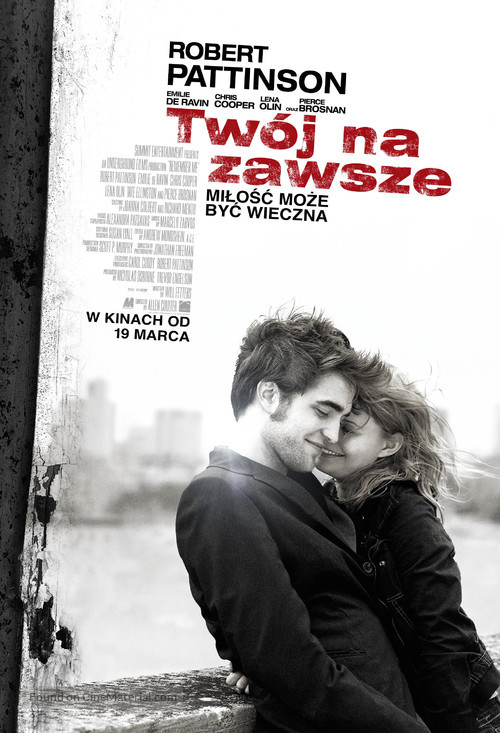 Remember Me - Polish Movie Poster