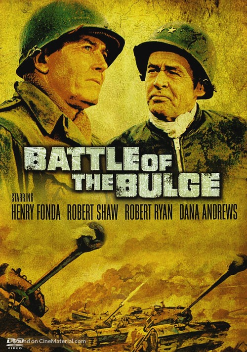 Battle of the Bulge - DVD cover