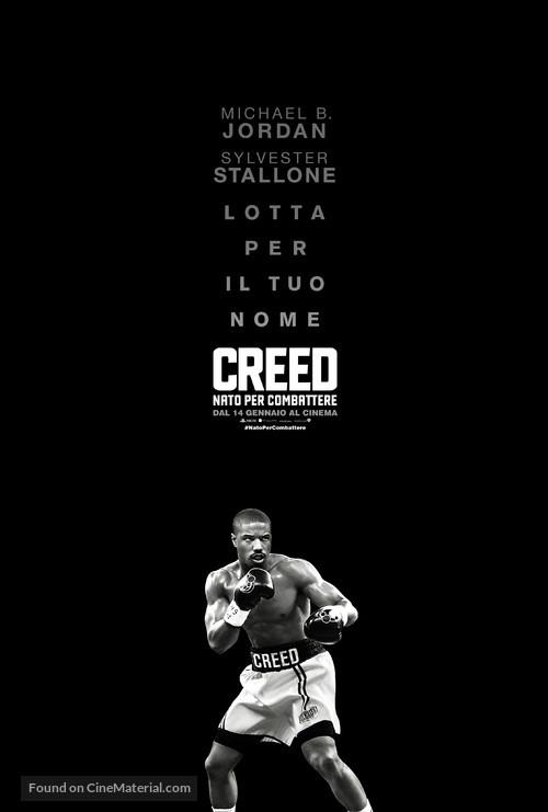 Creed - Italian Movie Poster