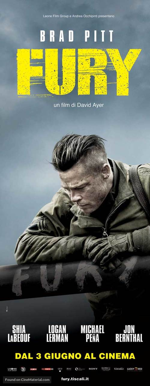Fury - Italian Movie Poster