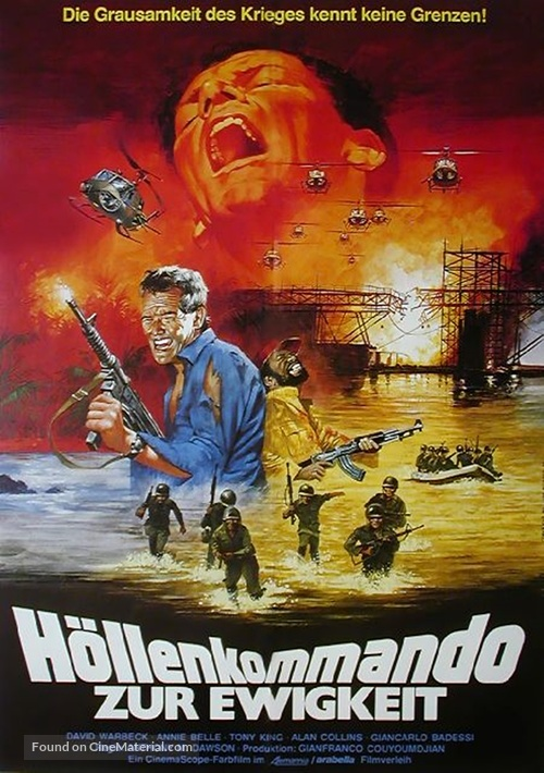 Fuga dall'archipelago maledetto - German Movie Poster