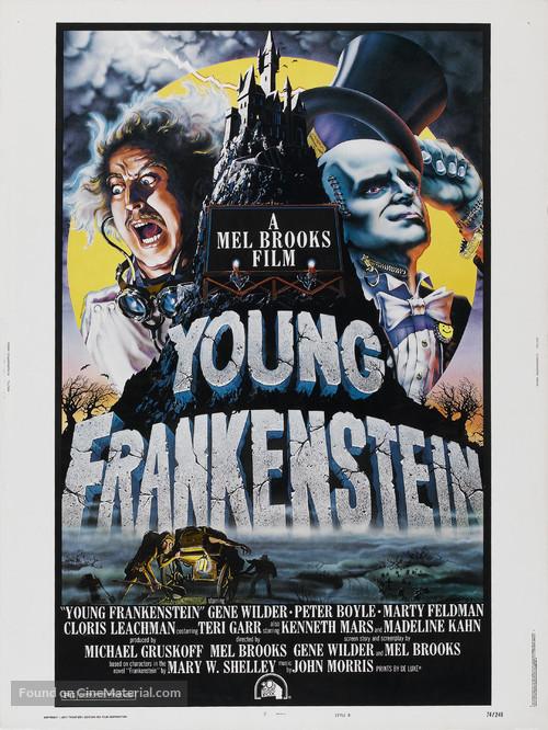 Young Frankenstein - Movie Poster