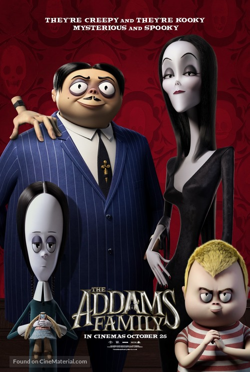 The Addams Family - British Movie Poster