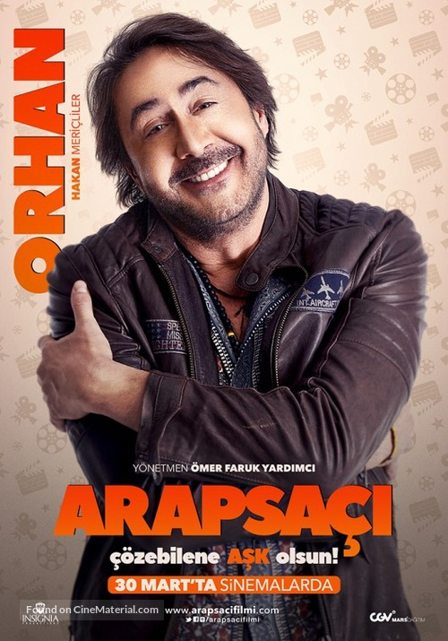 Arapsaci - Turkish Character movie poster