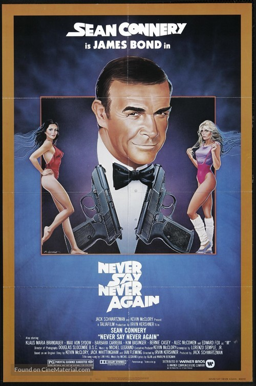 Never Say Never Again - Theatrical poster