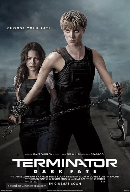 Terminator: Dark Fate - British Movie Poster