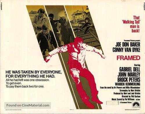 Framed - Theatrical movie poster