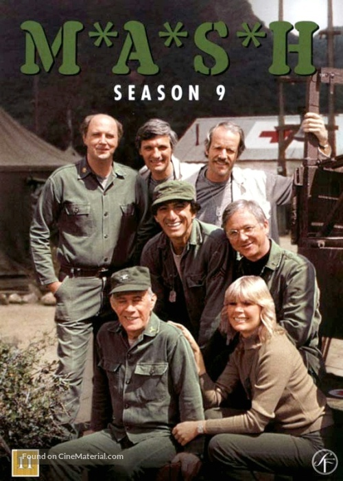 """M*A*S*H"" - Danish DVD cover"