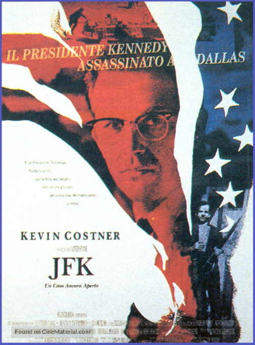 JFK - Italian Movie Poster