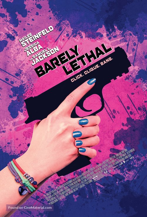 Barely Lethal - Teaser movie poster