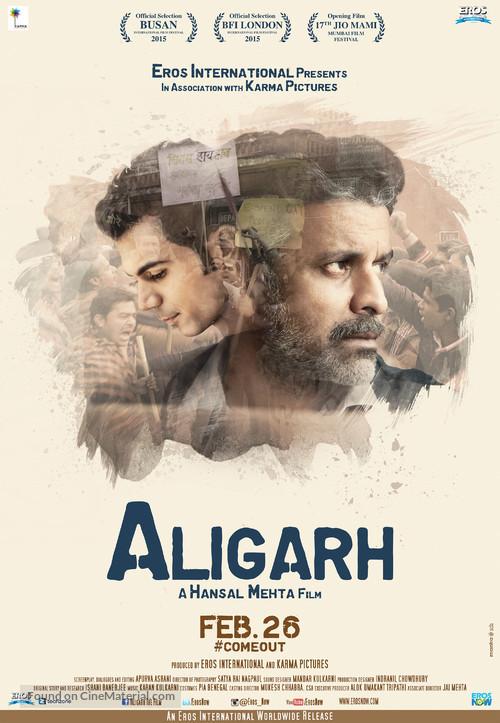 Aligarh - Indian Movie Poster