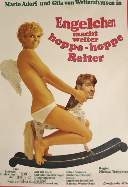 Engelchen macht weiter - Hoppe, hoppe Reiter - German Movie Poster