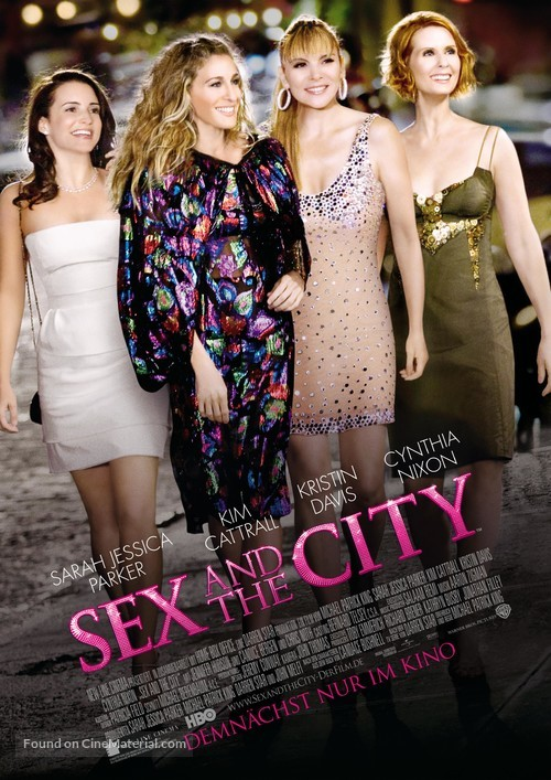 Sex and the City - German Advance poster