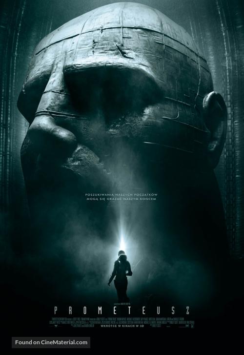 Prometheus - Polish Movie Poster