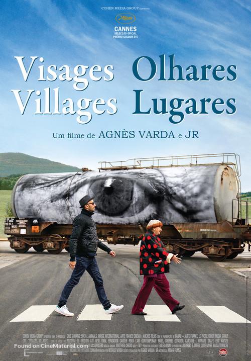 Visages, villages - Portuguese Movie Poster