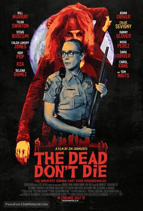 The Dead Don't Die - British Movie Poster