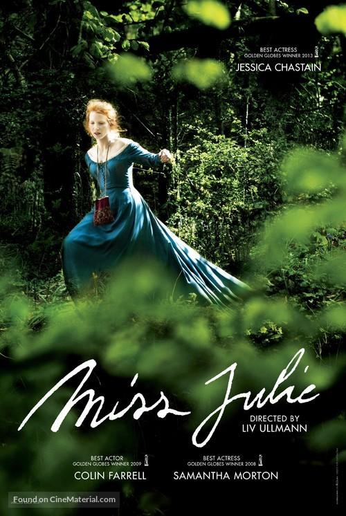 Miss Julie - British Movie Poster