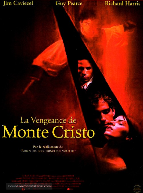 The Count of Monte Cristo - French Movie Poster