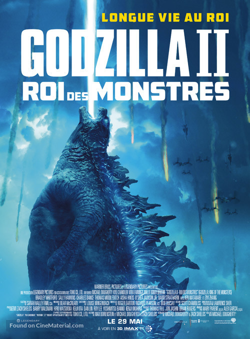 Godzilla: King of the Monsters - French Movie Poster