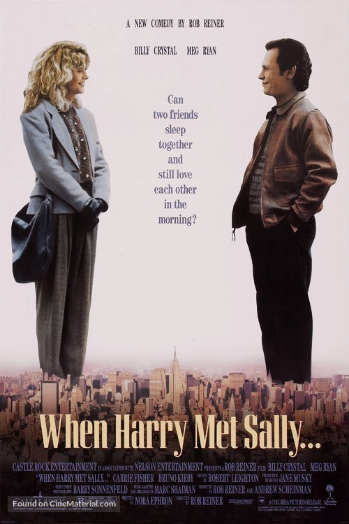 When Harry Met Sally... - Movie Poster