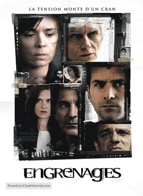 """""""Engrenages"""" - French Movie Cover"""