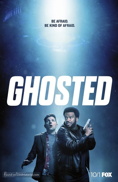 """Ghosted"" - Movie Poster"