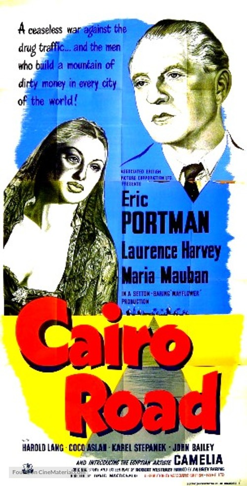 Cairo Road - British Movie Poster