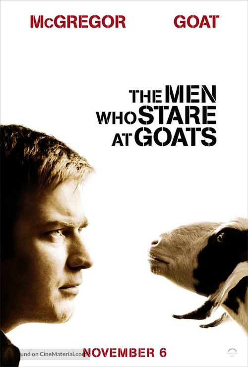 The Men Who Stare at Goats - Movie Poster