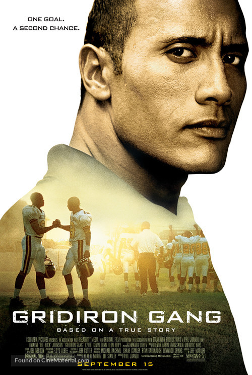 Gridiron Gang - Movie Poster
