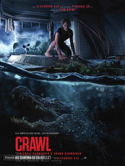 Crawl - French Movie Poster