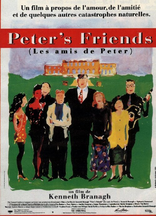 Peter's Friends - French Movie Poster