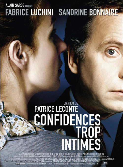 Confidences trop intimes - French Movie Poster