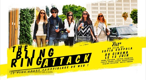 The Bling Ring - French Movie Poster