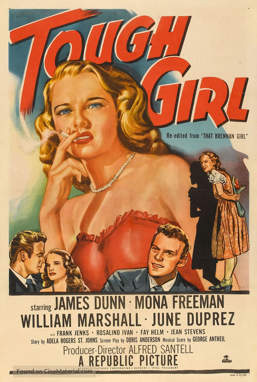 That Brennan Girl - Re-release movie poster