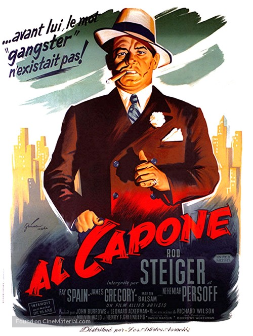 Al Capone - French Movie Poster