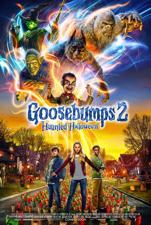 Goosebumps 2: Haunted Halloween (2018) English 720p HDCAM-Rip x264 750MB