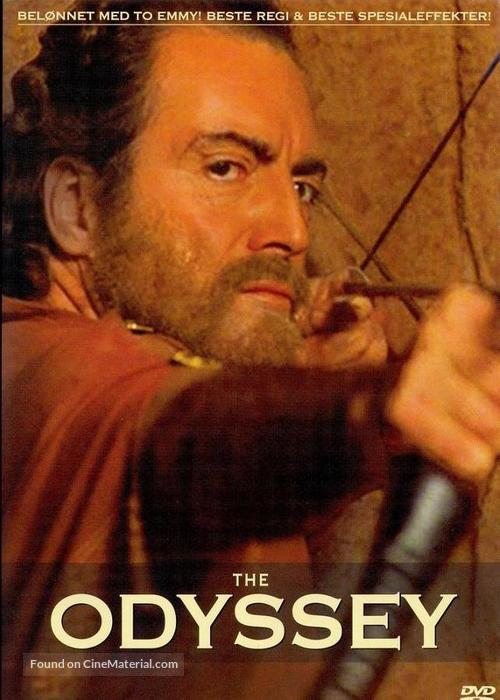 """The Odyssey"" - Norwegian DVD movie cover"