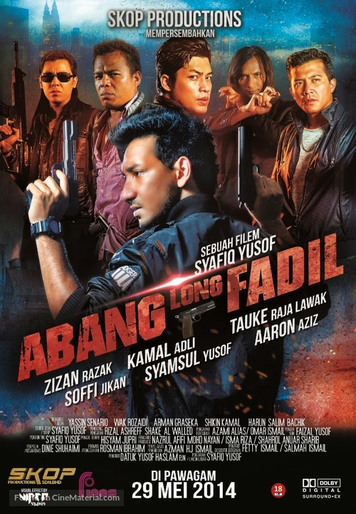 Abang Long Fadil - Malaysian Movie Poster