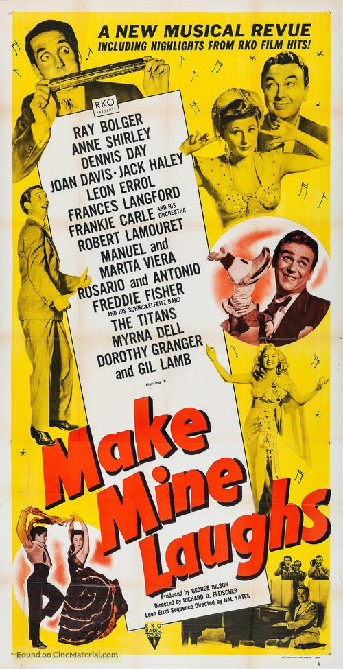 Make Mine Laughs - Movie Poster