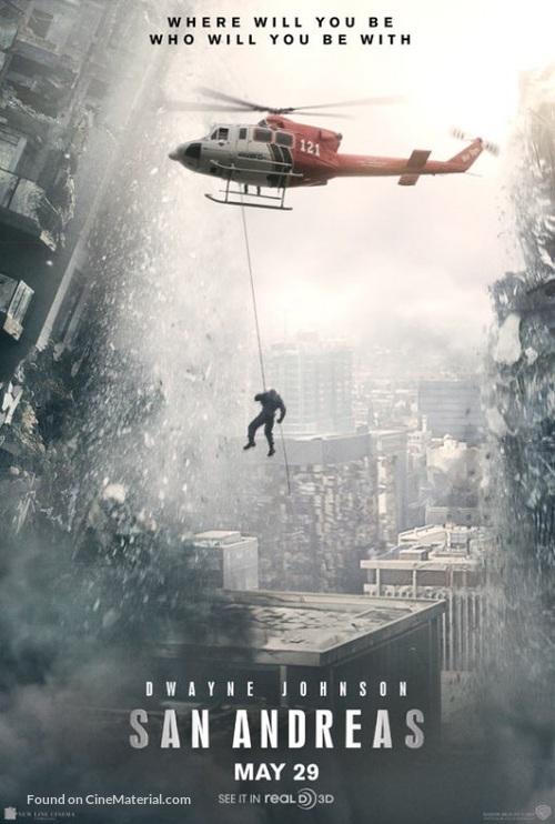 San Andreas - Movie Poster
