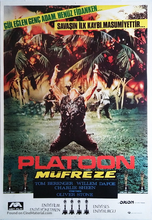 Platoon - Turkish Movie Poster