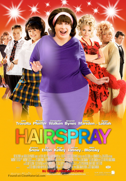 Hairspray - Turkish Movie Poster