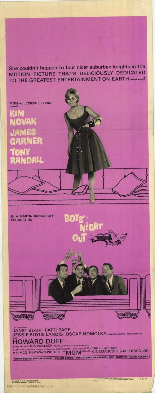 Boys' Night Out - Movie Poster
