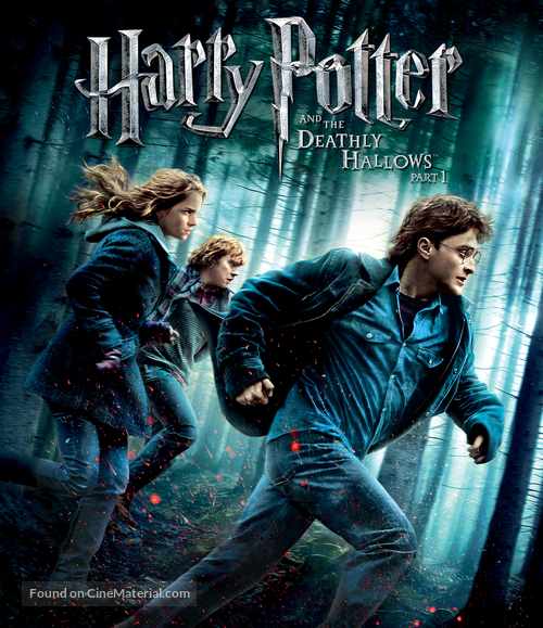 Harry Potter and the Deathly Hallows: Part I - Blu-Ray cover