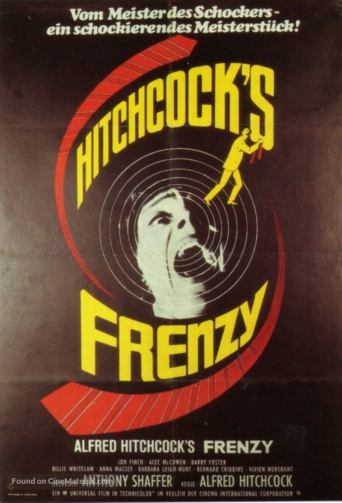 Frenzy - German Movie Poster