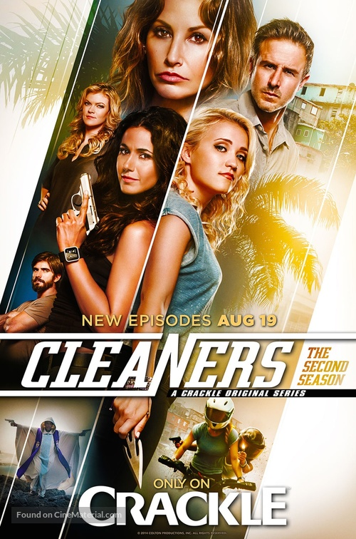 """""""Cleaners"""" - Movie Poster"""