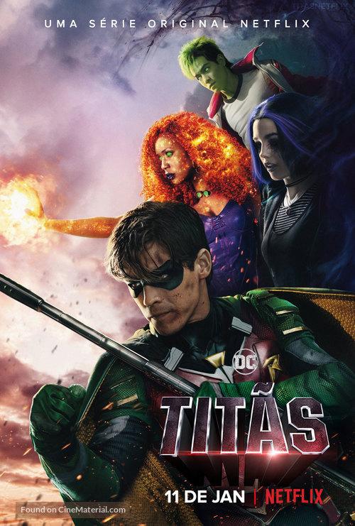 Titans - Brazilian Movie Poster