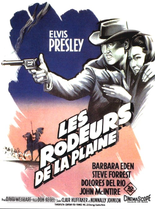 Flaming Star - French Movie Poster